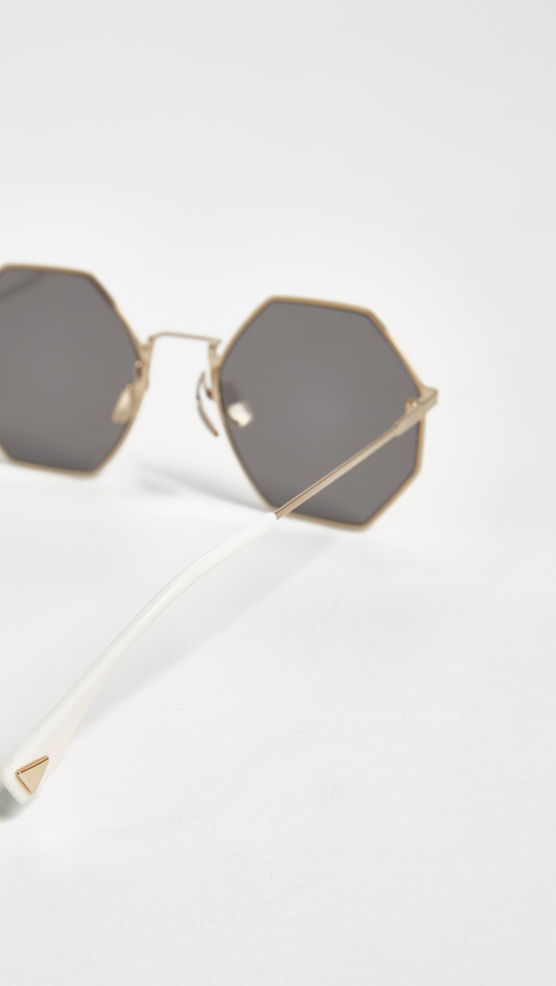 8b777061675 Fendi Geometric Sunglasses