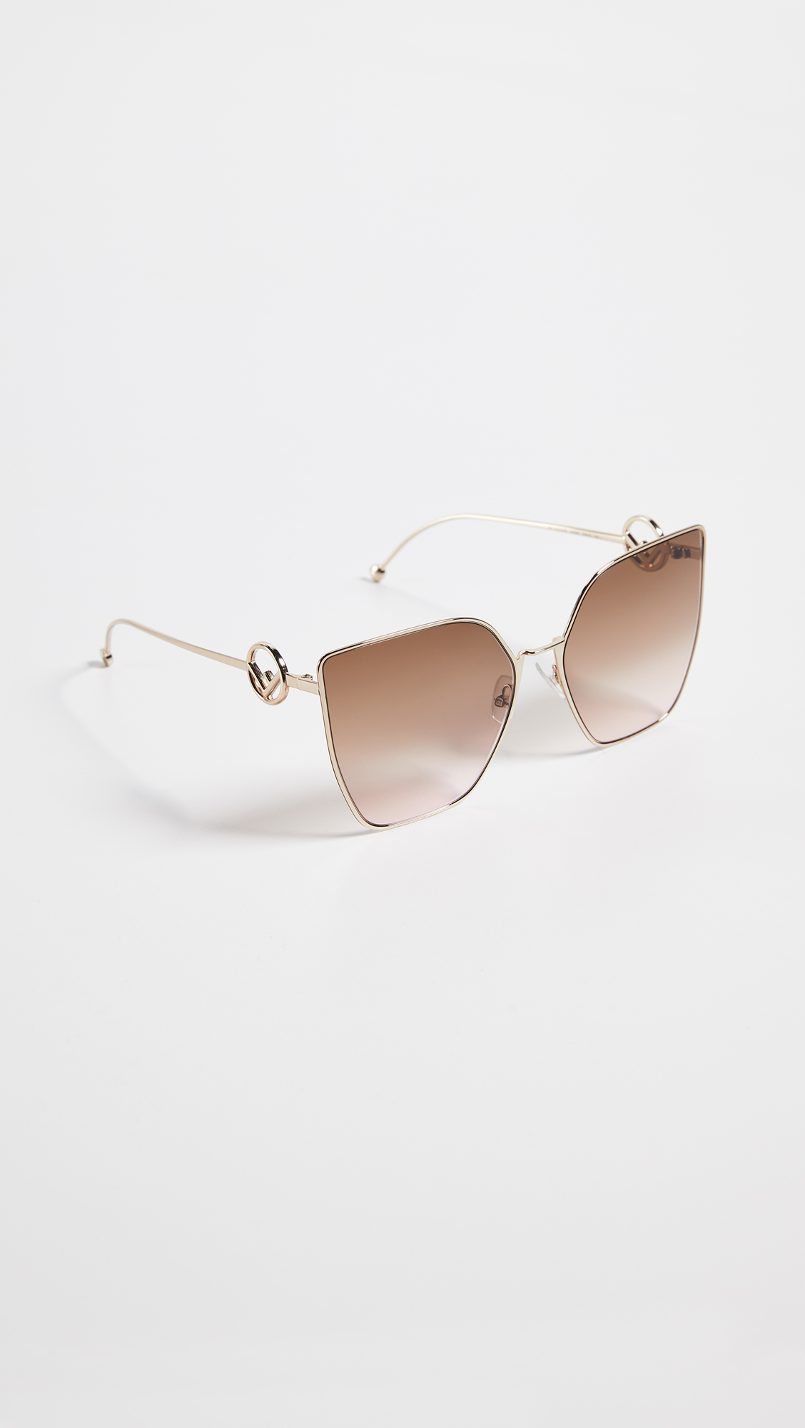 b7b82d6c860 Fendi Oversized Cat Eye Sunglasses