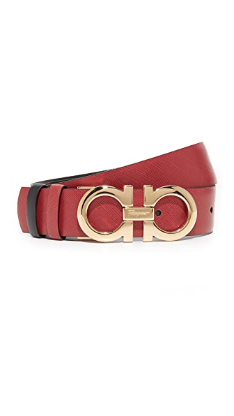 Salvatore Ferragamo Medium Giancini Reversible Belt