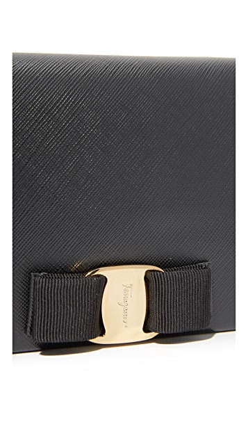 Salvatore Ferragamo Miss Vara Wallet On a Chain