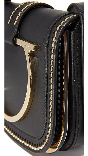 Salvatore Ferragamo Small Sabine Saddle Bag