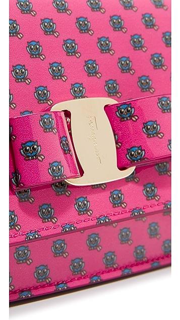 Salvatore Ferragamo Mini Vara Zoo Cross Body Bag