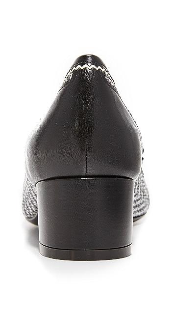 Salvatore Ferragamo Eva Leather Pumps