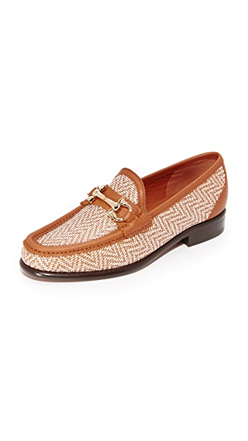 Salvatore Ferragamo Mason Twist Loafers