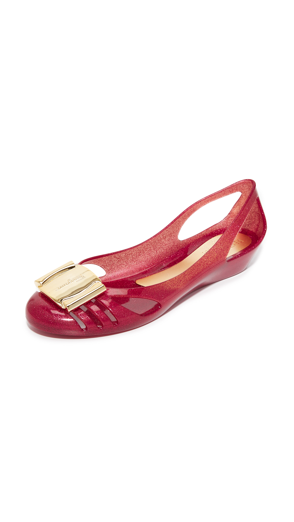 3625db42b6da Salvatore ferragamo bermuda jelly flats shopbop jpg 1128x2000 Red jelly  flats