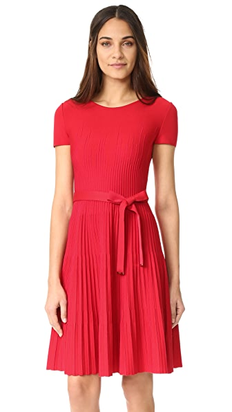 Salvatore Ferragamo Short Sleeve Dress