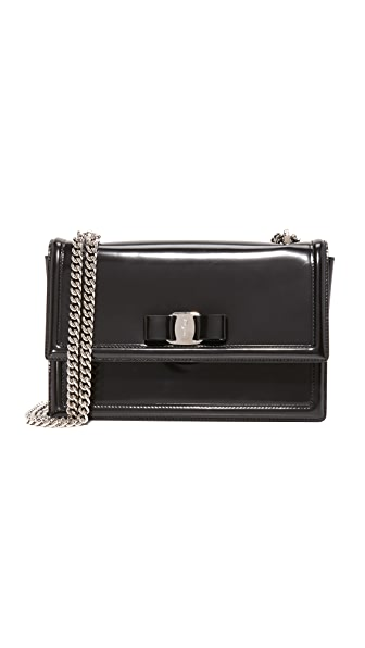 Salvatore Ferragamo Ginny Flap Shoulder Bag
