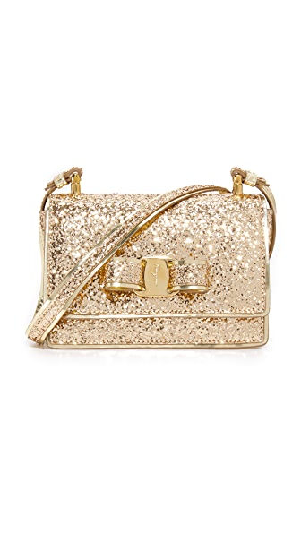 Salvatore Ferragamo Ginny Shoulder Bag - Oro
