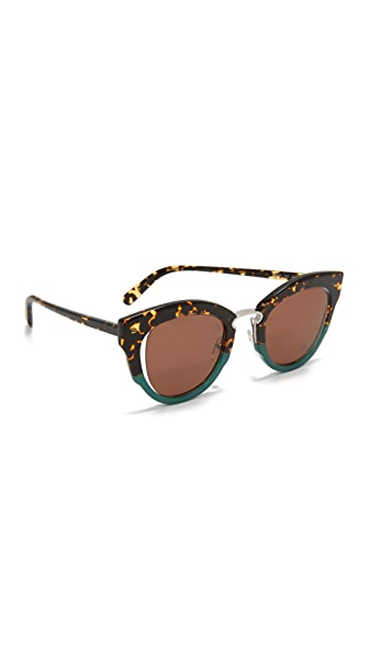 Salvatore Ferragamo Cat Eye Sunglasses