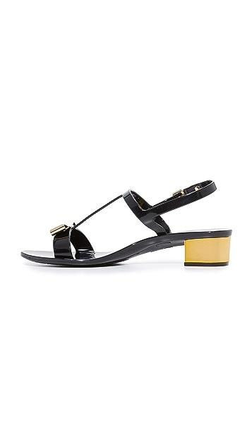 Salvatore Ferragamo Favilia Jelly City Sandals