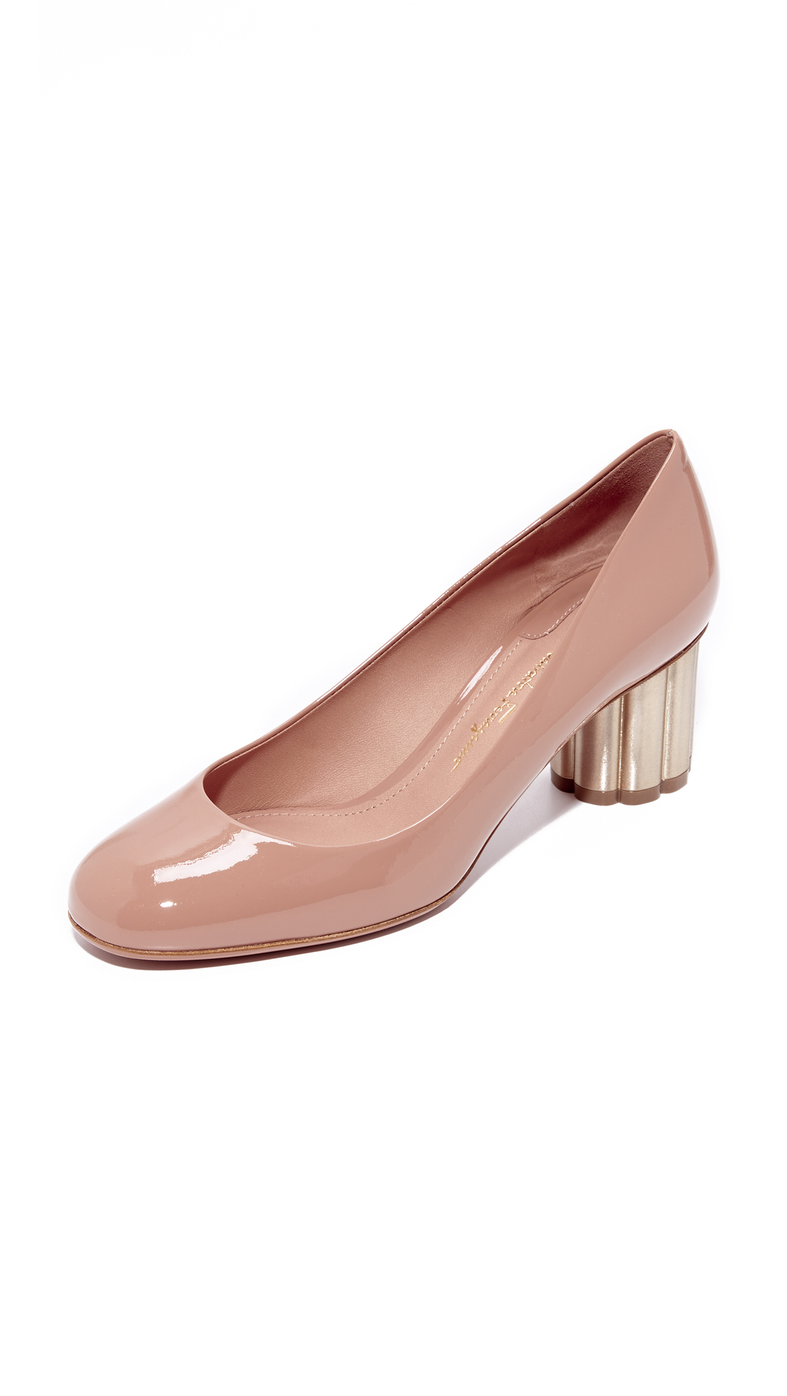 Salvatore Ferragamo Lucca Pumps - New Blush