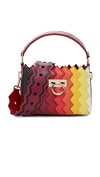 Salvatore Ferragamo Salome Top Handle Bag - Multi