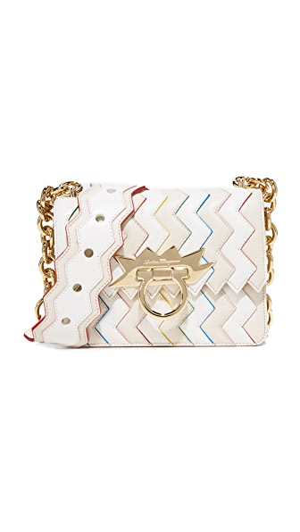Salvatore Ferragamo Sindy Cross Body Bag - Lait