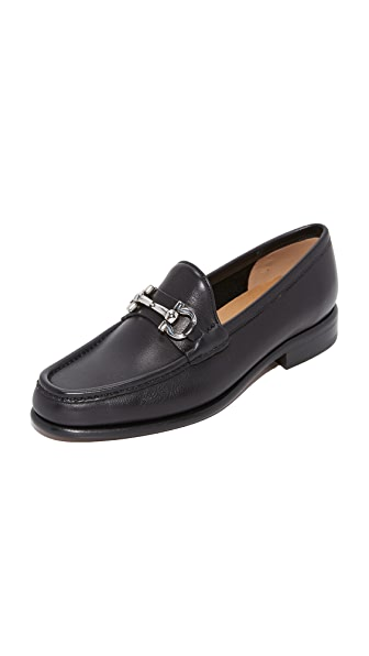 Salvatore Ferragamo Mason Loafers - Nero