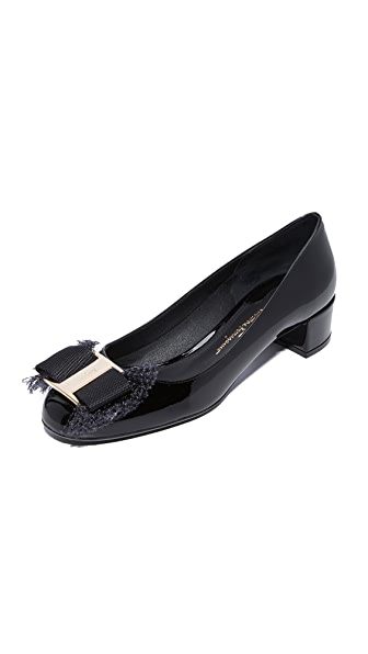 Salvatore Ferragamo Marlia 30mm Pumps - Nero