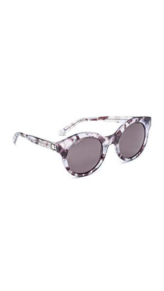 Salvatore Ferragamo Round Sunglasses