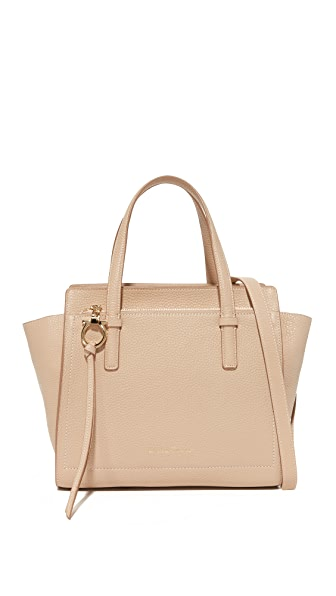 Salvatore Ferragamo Amy Small Tote - New Bisque