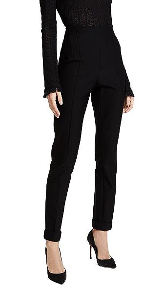 Salvatore Ferragamo Black Pants In Black