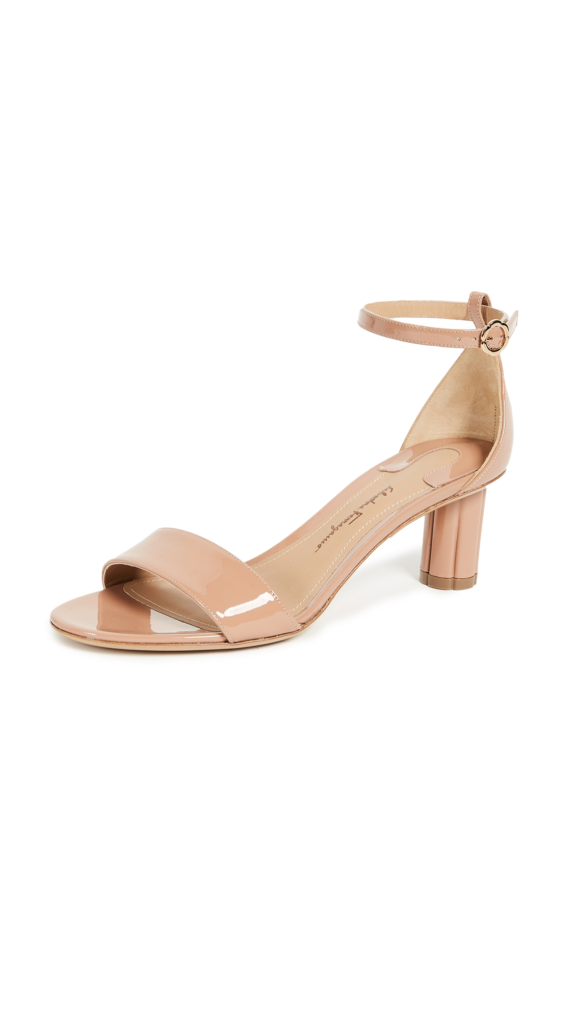 Salvatore Ferragamo Tursi Wrap Sandals - New Blush