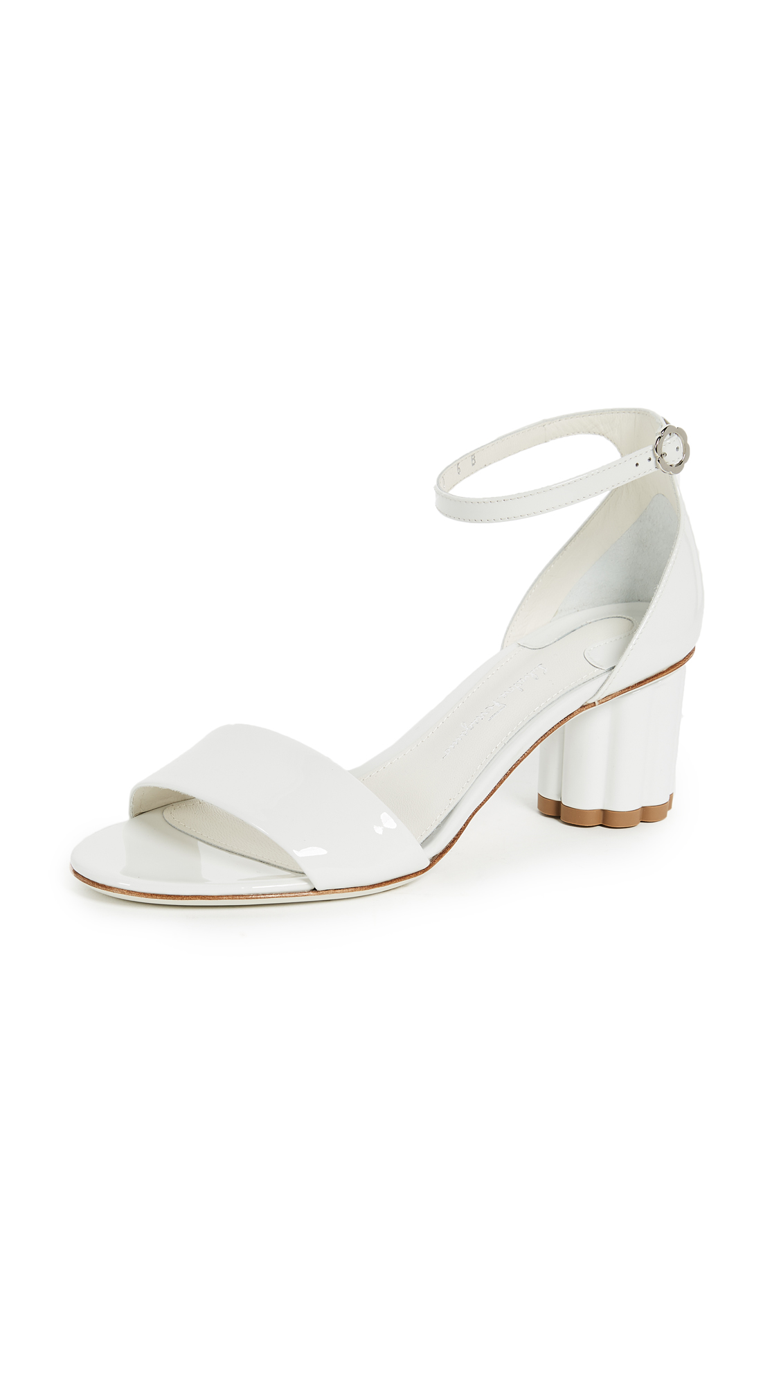 Salvatore Ferragamo Erclea Sandals - New Bianco