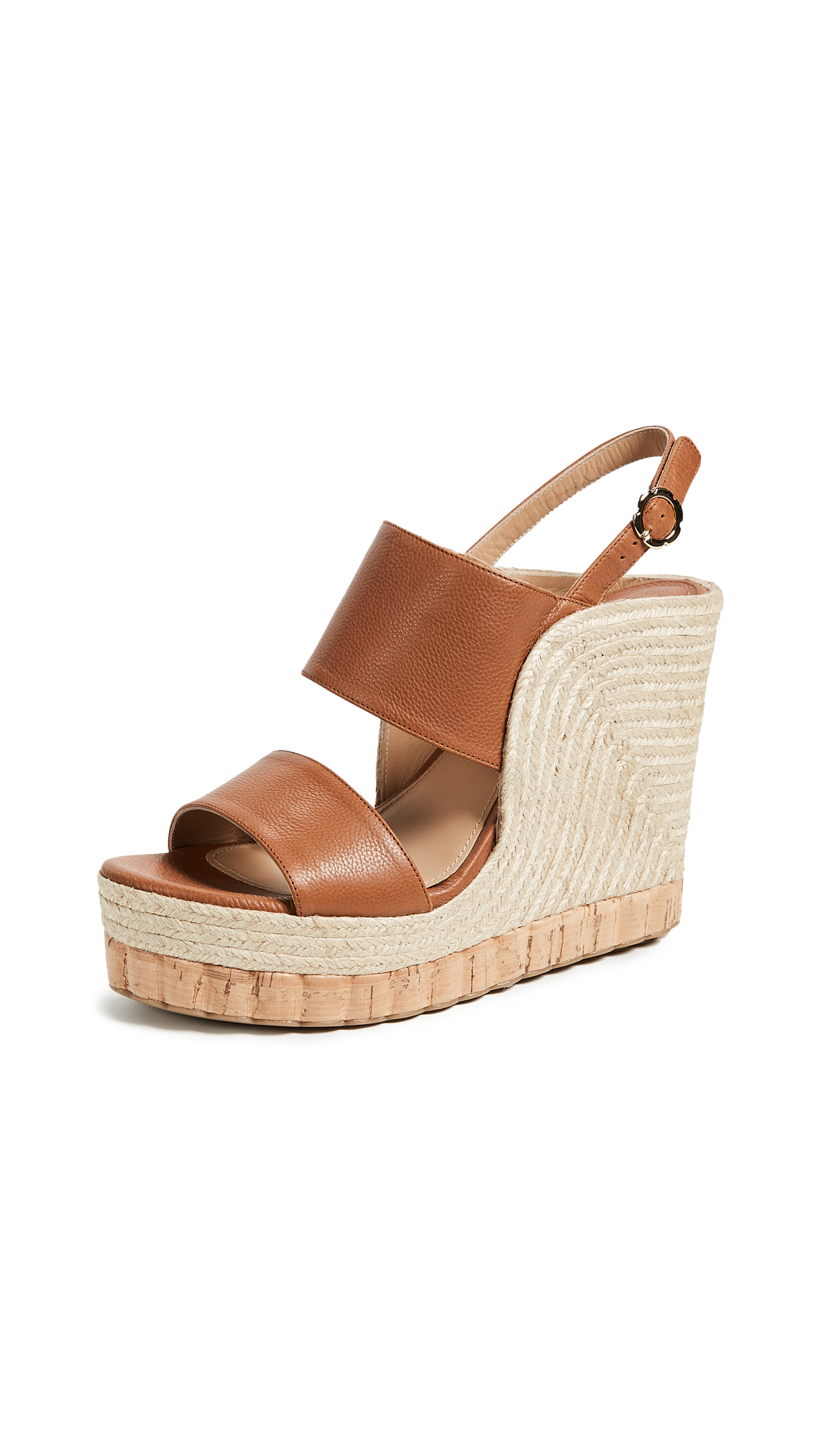 Salvatore Ferragamo Maratea Wedge Sandals - Sella
