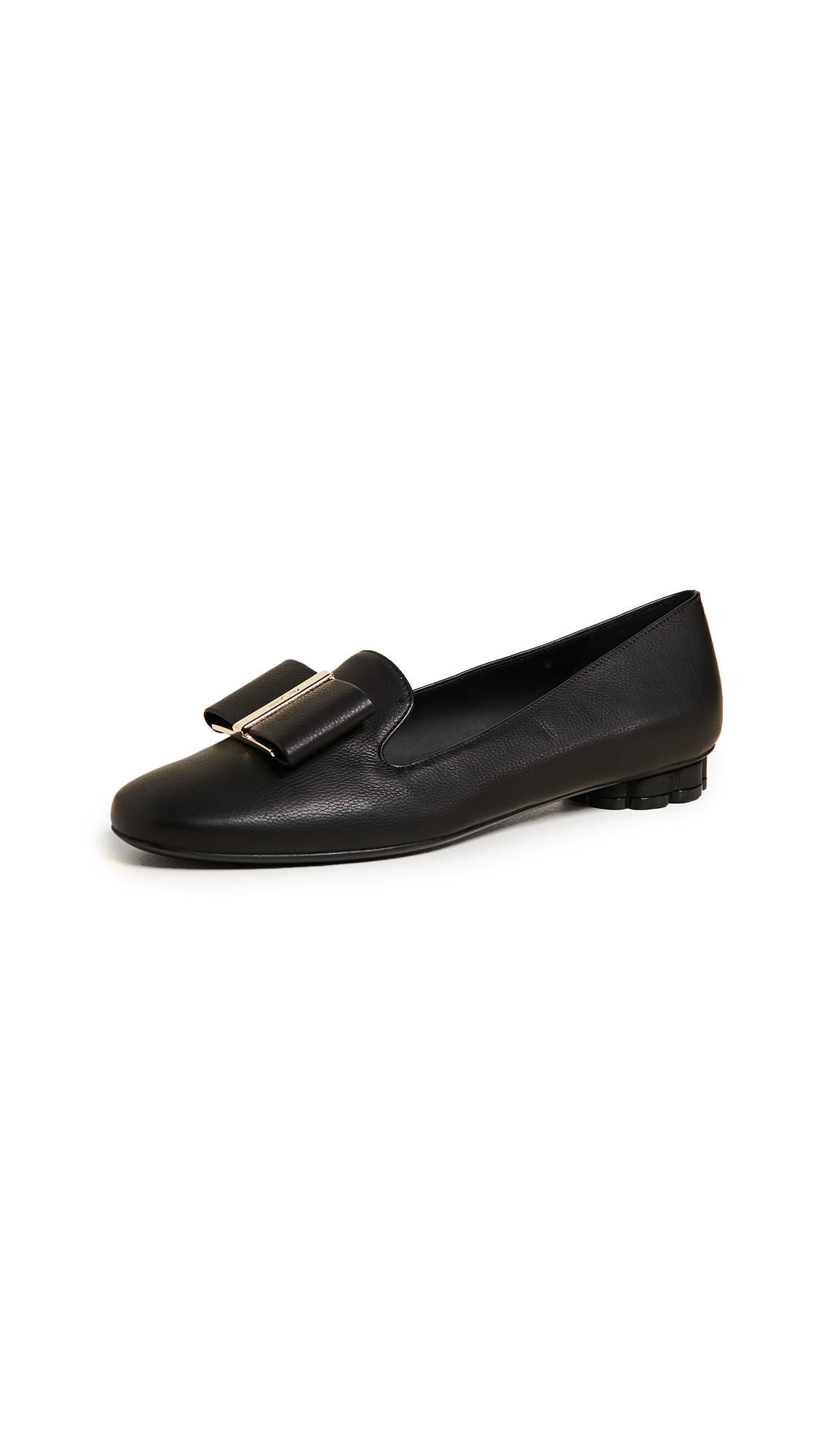 Salvatore Ferragamo Sarno Loafers - Nero