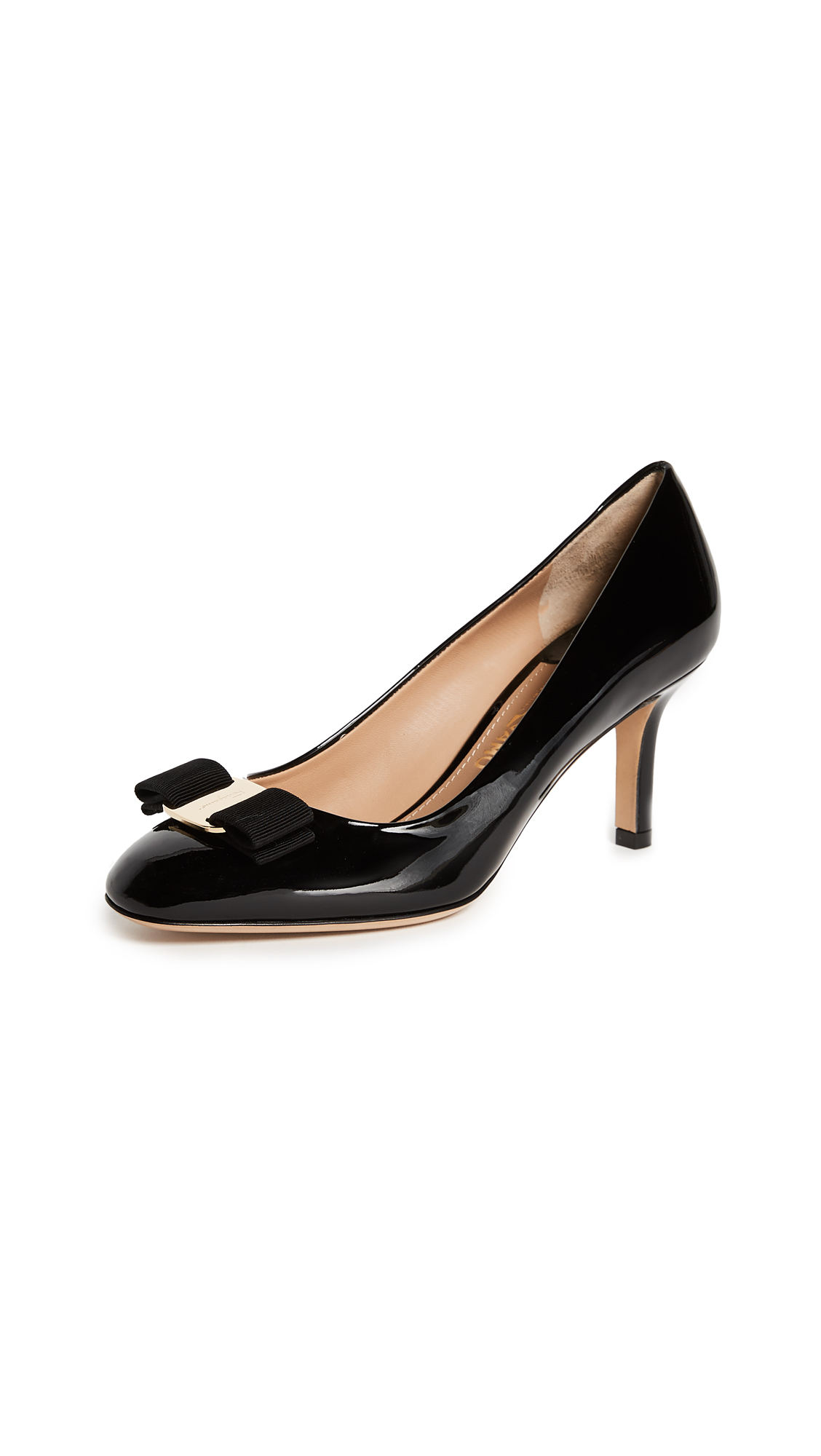 Salvatore Ferragamo Erice 70mm Pumps - Nero