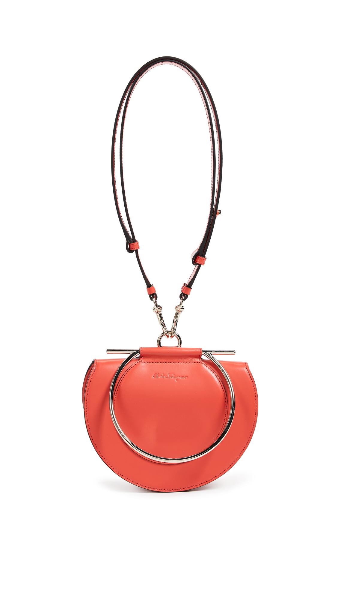 Salvatore Ferragamo Daphne Convertible Bag In Coral  22f8d893f8cdb