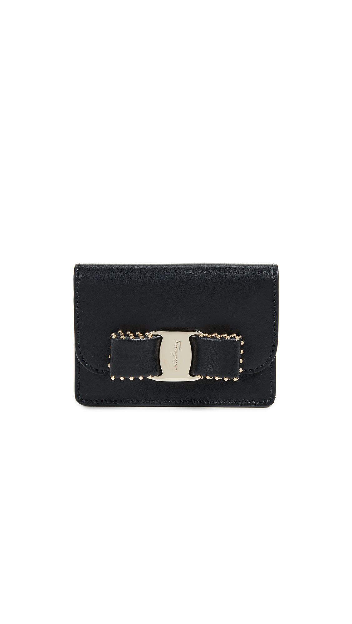 Lowest Price Buy Cheap Wide Range Of Vara Rainbow card case - Black Salvatore Ferragamo View Sale Online Outlet With Paypal qpTrbF