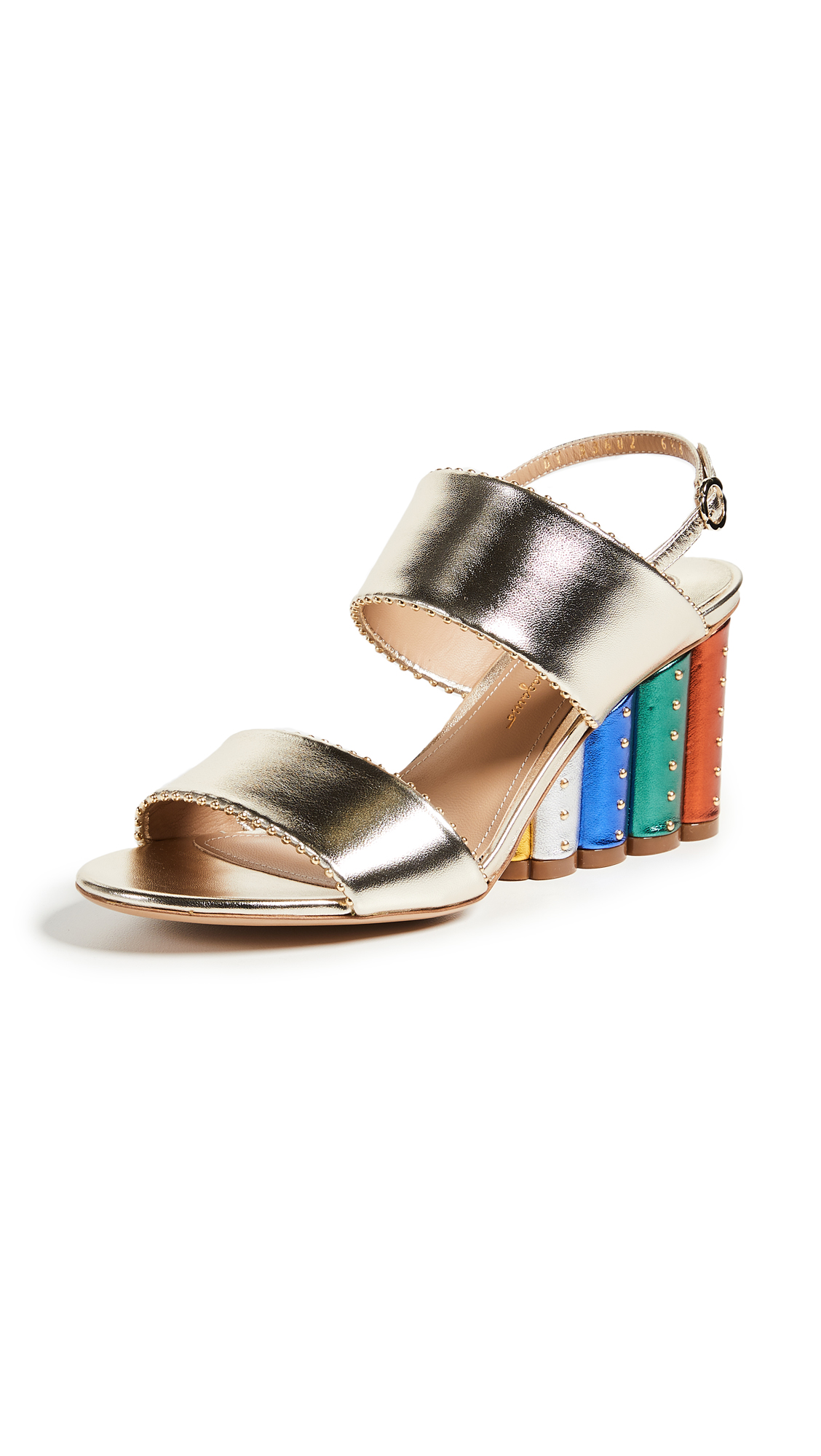 Salvatore Ferragamo Gavi Sandals - Oro Rainbow