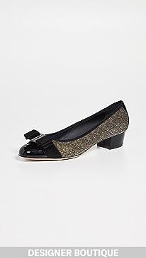 4f6473943020 Chic Gold Pumps Shoes