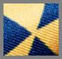 медальон желтый