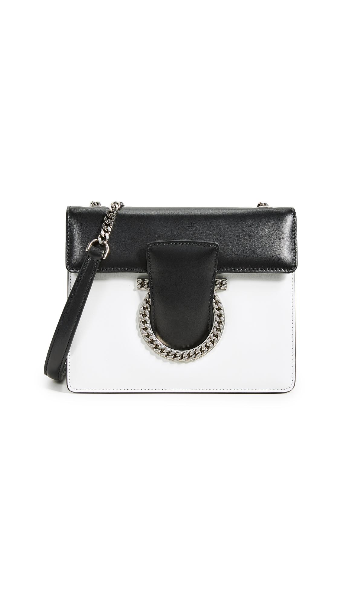 Salvatore Ferragamo Thalia Small Shoulder Bag - New Bianco