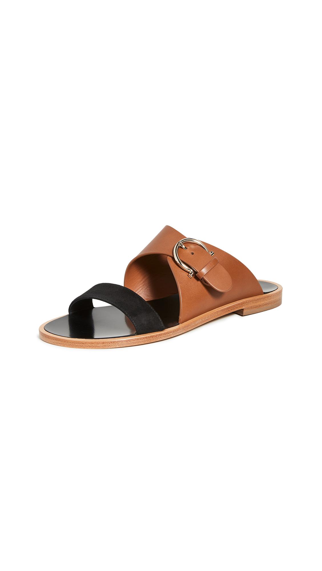 Buy Salvatore Ferragamo online - photo of Salvatore Ferragamo Cassie 10mm Sandals
