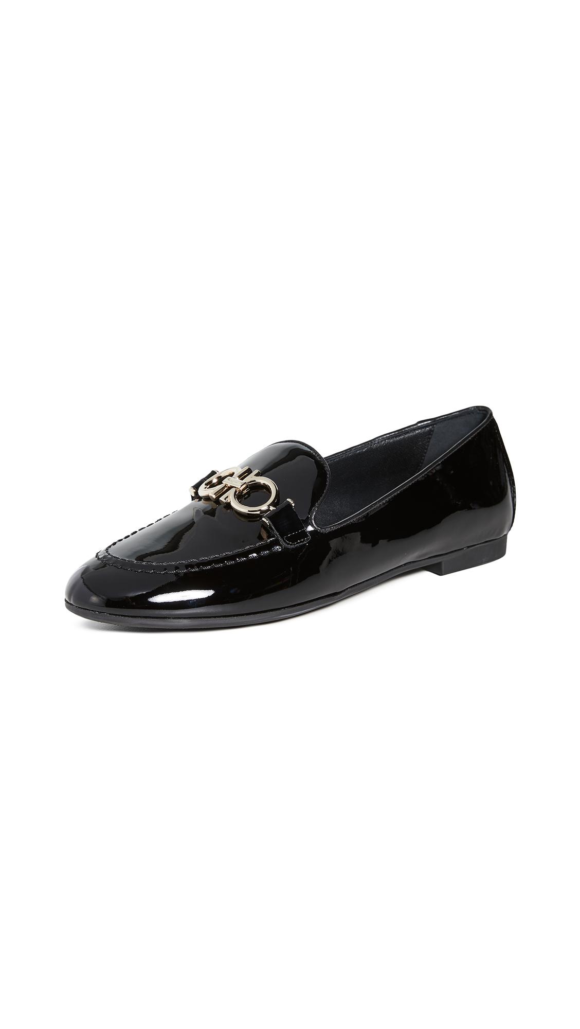 Buy Salvatore Ferragamo Trifoglio Loafers online, shop Salvatore Ferragamo