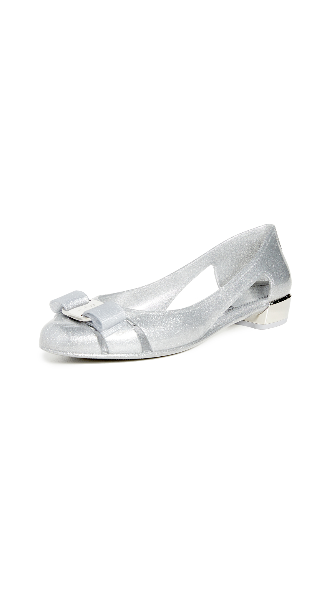 Buy Salvatore Ferragamo online - photo of Salvatore Ferragamo Vara Jelly Pumps
