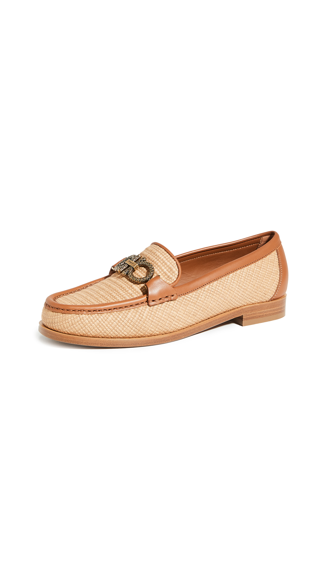 Salvatore Ferragamo Rolo T Loafers – 40% Off Sale