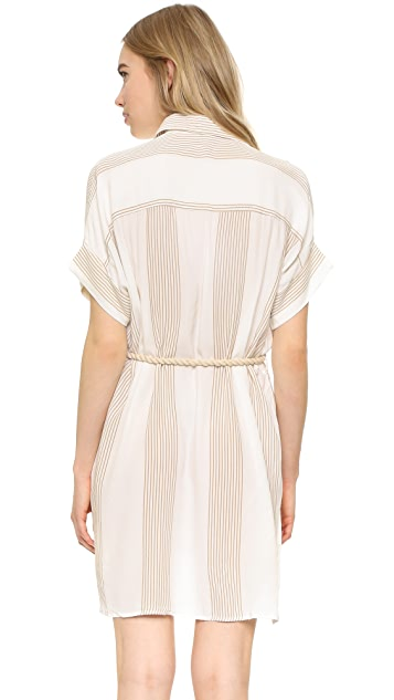 FAITHFULL THE BRAND Castaway Shirt Dress