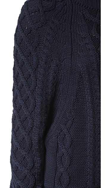 FAITHFULL THE BRAND Lauren Knit Sweater