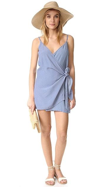 FAITHFULL THE BRAND Kara Wrap Dress