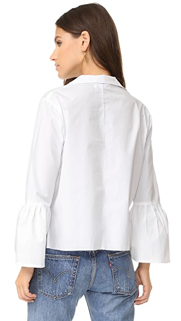 FAITHFULL THE BRAND Bisous Top