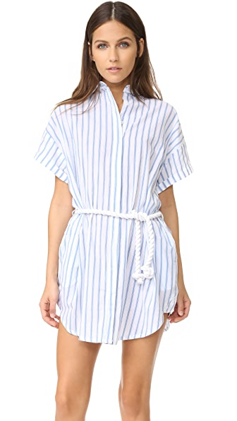 FAITHFULL THE BRAND Avalon Shirtdress