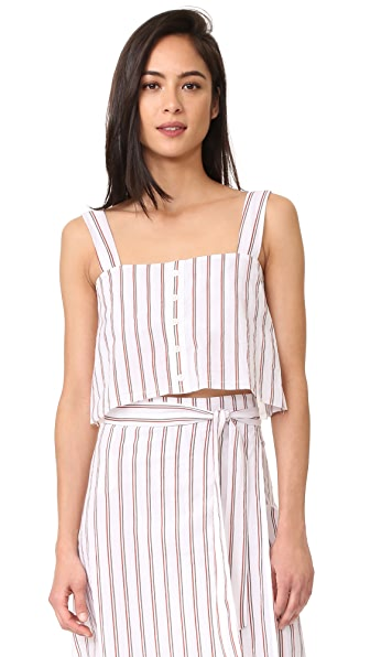 FAITHFULL THE BRAND Balmy Top - Bay Stripe