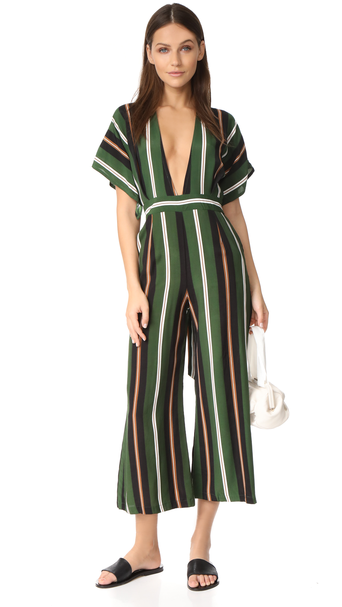 FAITHFULL THE BRAND Cedric Jumpsuit - Firenze Stripe