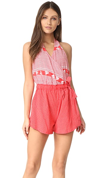 FAITHFULL THE BRAND Beachcomber Romper