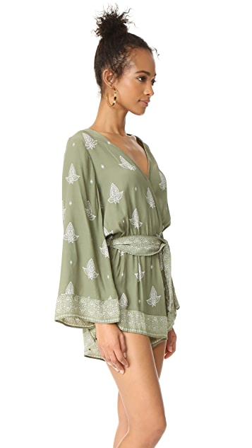 FAITHFULL THE BRAND Long Bay Romper