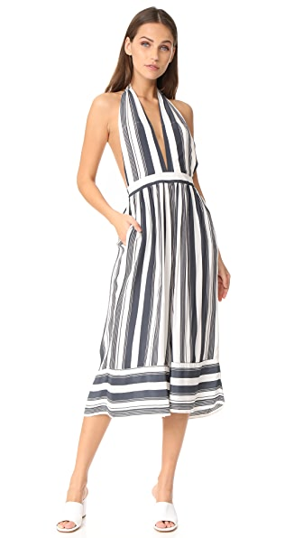 FAITHFULL THE BRAND Felix Jumpsuit - Sierra Stripe Print