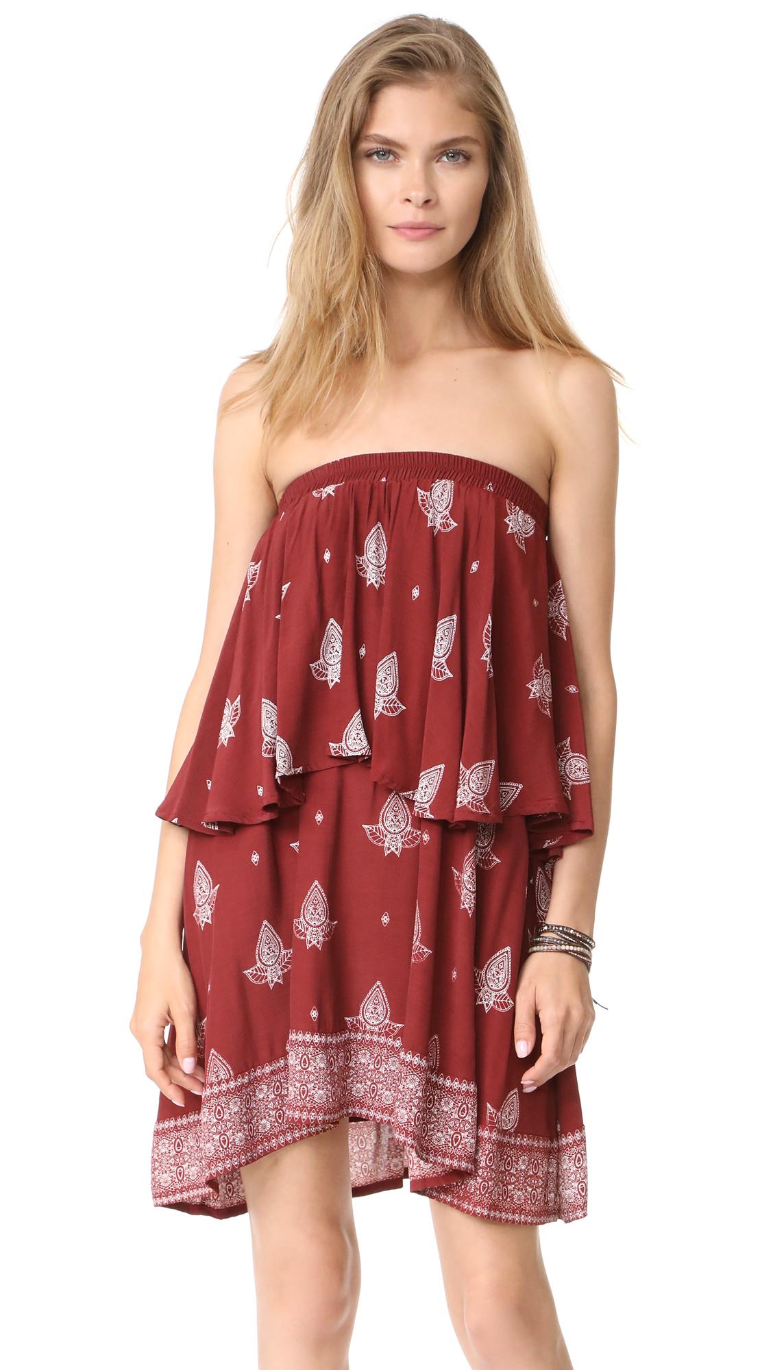 FAITHFULL THE BRAND Romy Dress - La Loma Print- Amber