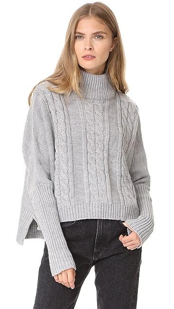 FAITHFULL THE BRAND Merida Knit Sweater