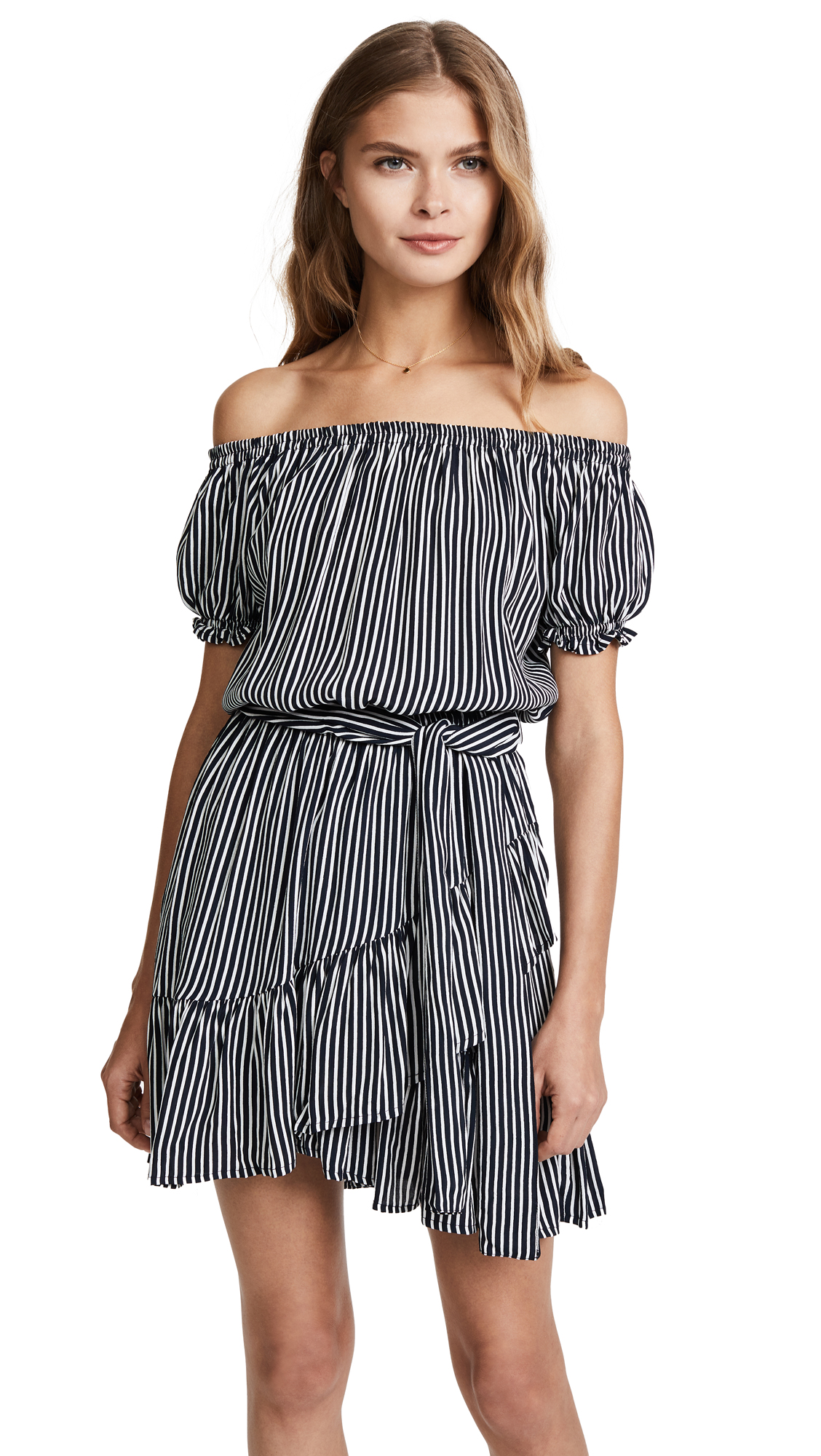 FAITHFULL THE BRAND Icaria Dress - Cap Maison Stripe